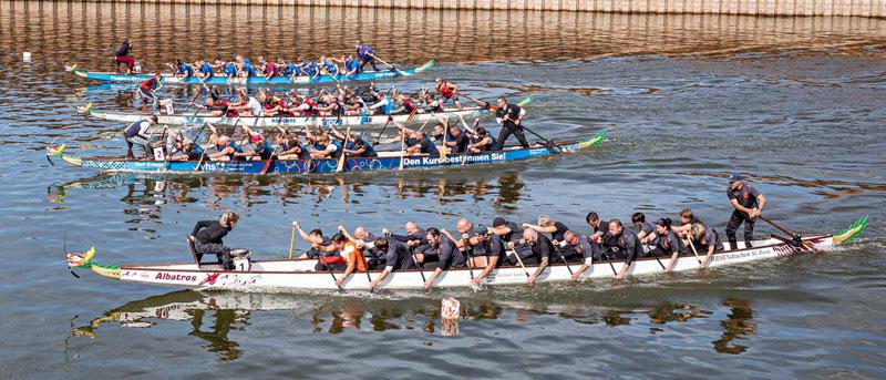 Foto Drachenbootrennen